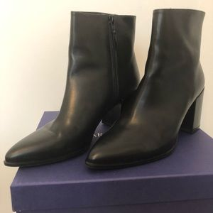 Stuart Weitzman ankle boots, 9, worn once, EUC